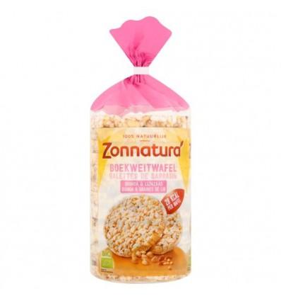 Zonnatura Boekweitwafels met quinoa 100 gram | € 1.63 | Superfoodstore.nl
