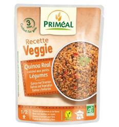 Primeal Recette Veggie Quinoa gekookt met groente 220 gram   € 2.66   Superfoodstore.nl