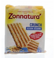 Zonnatura Sesam crunch reep 50 gram 3 stuks | € 2.19 | Superfoodstore.nl