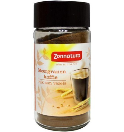Zonnatura Meergranen koffie bio 100 gram   € 3.21   Superfoodstore.nl