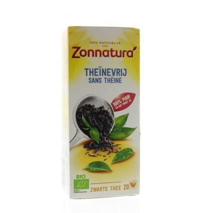 Zonnatura Theinevrije thee bio 20 zakjes | € 2.23 | Superfoodstore.nl