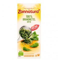 Zonnatura Brandnetel thee 100% bio 20 zakjes | € 2.07 | Superfoodstore.nl