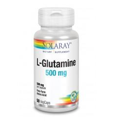 Solaray L-Glutamine 500 mg 50 vcaps | € 13.63 | Superfoodstore.nl