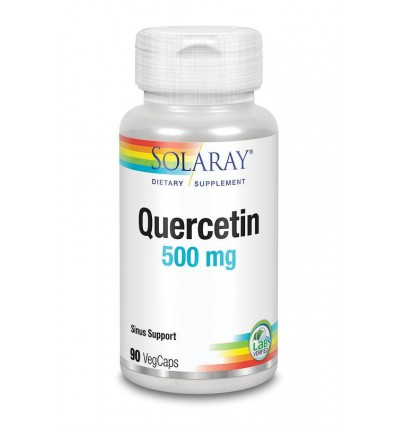 Solaray Quercetine 500 mg 90 vcaps | € 32.69 | Superfoodstore.nl