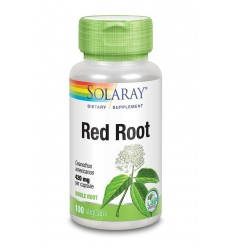 Solaray Red root 100 capsules | € 22.09 | Superfoodstore.nl