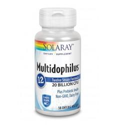 Solaray Multidophilus 12 50 capsules | € 18.49 | Superfoodstore.nl