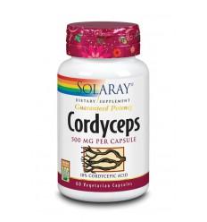Solaray Cordyceps 500 mg 60 vcaps | € 25.60 | Superfoodstore.nl