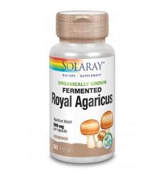 Solaray Agaricus gefermenteerd 500 mg 60 vcaps | € 30.49 | Superfoodstore.nl