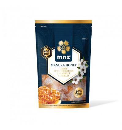 Manuka New Zealand Manuka honing MGO 100+ pastilles 120 gram | € 16.30 | Superfoodstore.nl