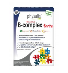 Physalis B-Complex forte 30 tabletten | € 12.02 | Superfoodstore.nl