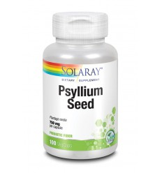 Solaray Psyllium zaad 750 mg 100 vcaps | € 14.98 | Superfoodstore.nl