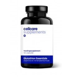 Cellcare Glutathion essentials 120 vcaps | € 41.98 | Superfoodstore.nl