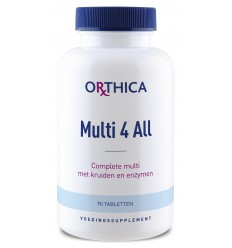 Orthica Multi 4 all 90 tabletten | € 23.69 | Superfoodstore.nl
