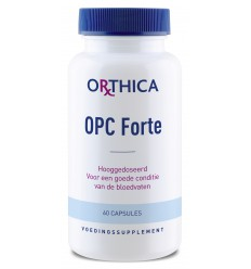 Orthica OPC forte 60 capsules   € 28.59   Superfoodstore.nl