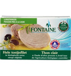Fontaine Tonijnfilet in olijfolie 120 gram