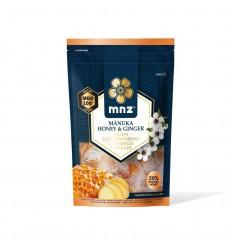 Manuka New Zealand Manuka honing MGO 100+ pastilles gember 120 gram