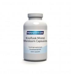 Nova Vitae Knoflook mistel meidoorn 1000 capsules
