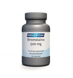 Nova Vitae Bromelaine 500 mg 90 capsules